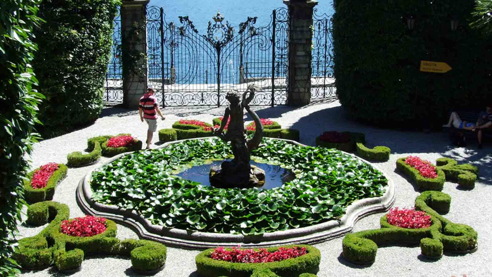 Front view of Villa Carlotta - Sheraton Lake Como