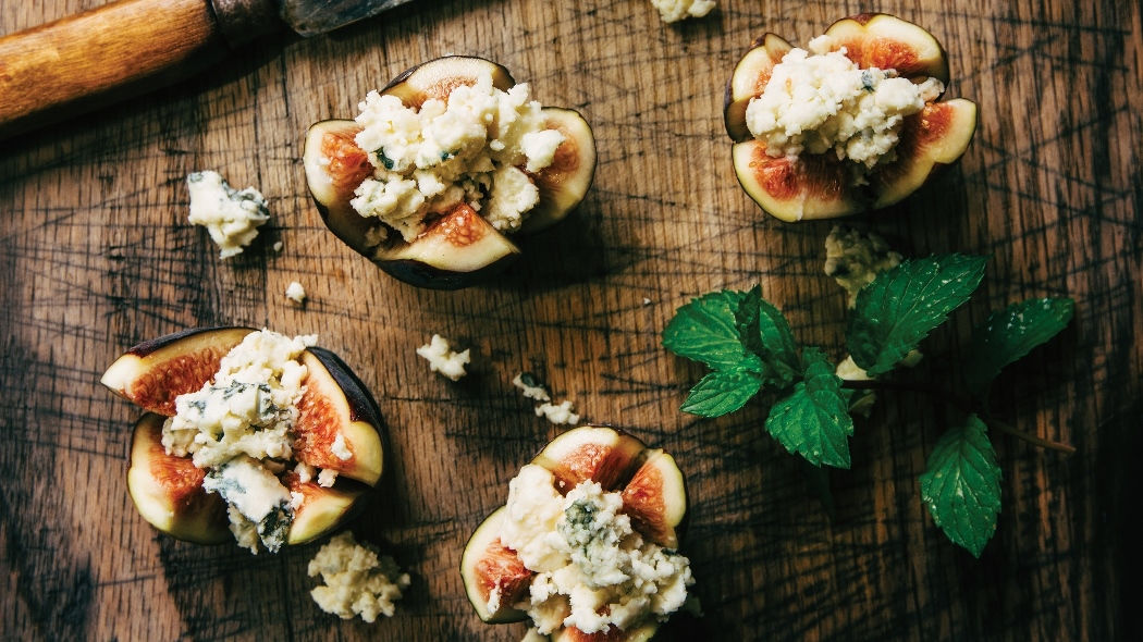 Figs with ricotta cheese - Sheraton Brand